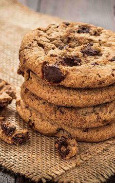 Confira a nossa deliciosa receita de Cookie Americano com gotas de chocolate para fazer em casa! ♥ KitchenAid