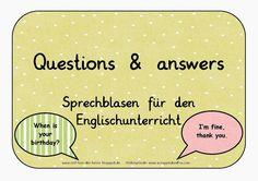 Reif für die Ferien: Englisch - Questions and answers