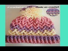 Crochet gorro facil para adulto - Con Ruby Stedman - YouTube