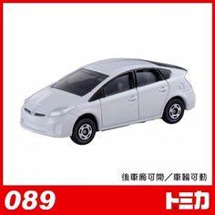 【TOMICA】日本多美小汽車/豐田PRIUS 白色油電車 No.89 - PChome購物中心@麗嬰特賣