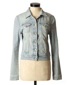 Mavi samantha bleach Bleached Denim Jacket, Denim Vests, Denim Top, Mavis, Shopping Spree, Chambray, Blazer, Chic, Jackets