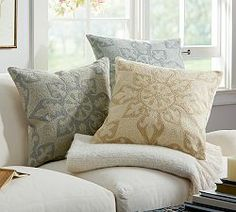 Throw Pillows, Accent Pillows & Outdoor Throw Pillows | Pottery Barn $47