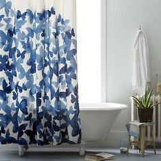 There's something utterly romantic & mysterious about curtains. Although most modern homes now have shower cubicles but we still love the good ol' shower curtains for the dainty charm they lend to a bathroom. And with so many choices to pick from, you are gonna be one helluva spoilt customer.  #thekrrishgroup Visit & like us on https://www.facebook.com/TheKrrishGroup to Interact with us.