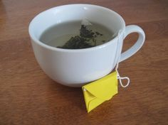 How to Make Tea Bag Love Letters