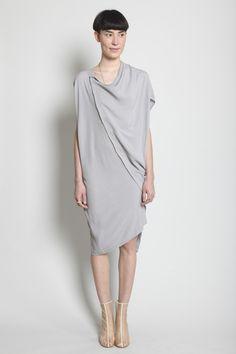Boessert Schorn Tilted Dress (Light Grey)