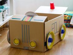 10 Juguetes Caseros Para Niños Hechos Con Cartón