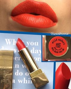 @LipstickDatabase on Instagram: Tanya Burr lipstick in Wild Safari