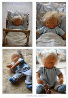Experience sensibly - live more sensibly: (Waldorf) dolls Sew Al sinnvoll erleben – sinnvoller leben: (Waldorf) Puppen Sew Along Teil 5 Experience sensibly – live more meaningfully: (Waldorf) Dolls Sew Along Part 5 - Doll Crafts, Diy Doll, Doll Toys, Baby Dolls, Waldorf Toys, Waldorf Crafts, Sewing Dolls, Doll Tutorial, New Dolls