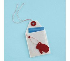 Gift card idea.