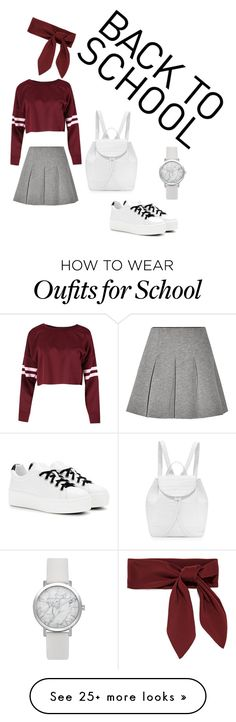 """""""Back to school"""" by bea23-93 on Polyvore featuring T By Alexander Wang, Kenzo, Nancy Gonzalez and Chloé"""