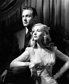 William Holden & Veronica Lake