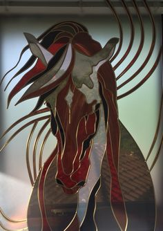 Overlay glass design by Linda Abyaneh