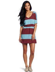 Amazon.com: Roxy Juniors Juniper V-Neck Dress: Clothing