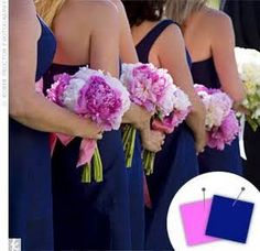 Blue Wedding Color Combos