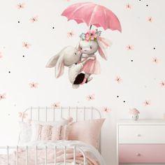 Akvarell falmatricák | Falmatricák | INSPIO Home Decor, Bedroom, Baby Frame, Living Room, Bunny, Nice Asses, Decoration Home, Room Decor, Home Interior Design