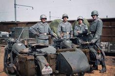 Luftwaffe & Zündapp Sidecar