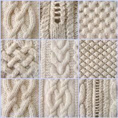 how to knit Irish stitch More - Saadia Zeghloul - - comment tricoter le point irlandais Plus how to knit Irish stitch More - Knitting Squares, Cable Knitting Patterns, Knitting Stiches, Loom Knitting, Knit Patterns, Free Knitting, Crochet Stitches, Baby Knitting, Stitch Patterns