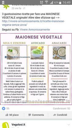 Maionese vegetale