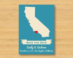 save the date ideas travel - Google Search
