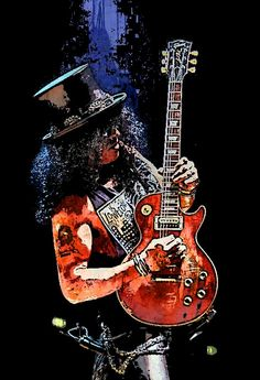 Slash God Of Guitar - made by Pitsis Gio