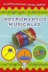 Instrumentos musicales. Manualidades para niños