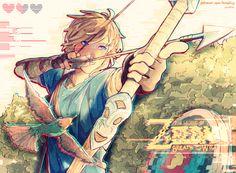 Zelda Breath Of The Wild by xnatiix
