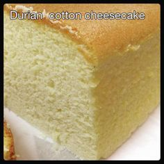 Durian Cotton Cheesecake Ingredients: 175g cream cheese 75g durian flesh 5 egg yolks 60g castor sugar 50g butter 150g full cream milk 60g cake flour 20g cornflour 1/4 tsp salt 1 tsp Vanilla extract…