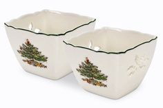 Spode Christmas Tree Pierced Votives with Tea Lights, Set of 2 ** Learn more by visiting the image link.