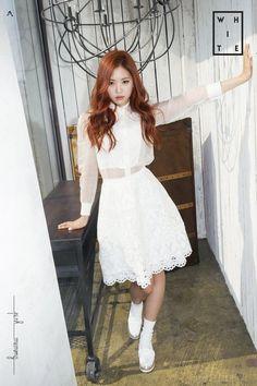 Apink Pink Memory White version teaser image naeun