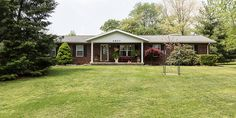 Over ONE ACRE! Here is a very nice 3 BR 2 BA brick ranch that's nearly 2000 SF w nice detached garage in Established Wyckcliff Farms!   #PaxtonGroup #KellerWilliams #Otisco