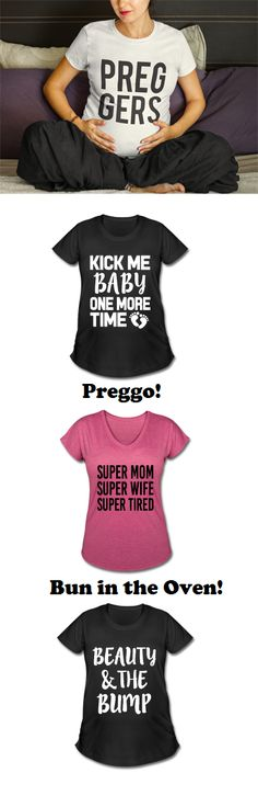 https://www.spreadshirt.com/user/WorksaHeart  New Mom Shirts! Pregnant, Baby on board, Funny Pregnant shirts, Maternity, Preggers. New Baby