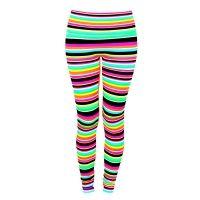 K.Deer Haute Yogawear: Haute Legz in 'Punk Rock Stripe'