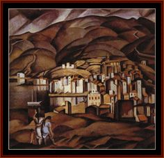 Cadaques, 1923 - Salvador Dali - by style - Surrealism Cadaques Spain, Salvador Dali Paintings, Oil Canvas, Francis Picabia, Les Religions, Spanish Artists, Post Impressionism, Magritte, Hyperrealism