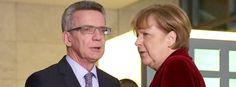 Innenminister de Maizière, Kanzlerin Merkel: Wollen Datensammeln erlauben!  Anti-Terror-Kampf: Merkel will die Daten aller Deutschen http://www.spiegel.de/politik/deutschland/angela-merkel-draengt-weiter-auf-vorratsdatenspeicherung-a-1012929.html http://web.de/magazine/politik/merkel-daten-deutschen-30360472