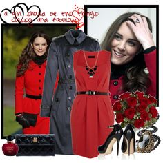 """Kate Middleton Style"" by natalcia on Polyvore"