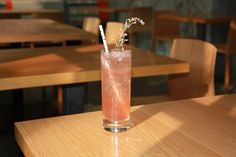Strawberry Black Peppercorn Shrub Soda