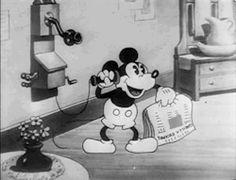 my gif gif Black and White disney vintage mickey mouse disney gif 1930 mickey mouse gif The Gorilla Mystery