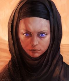 Alia Atreides - artist unknown #scifi #art #illustration