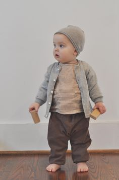 Boys' Cardigan Sweater with Rolled Edge   Feltman Brothers