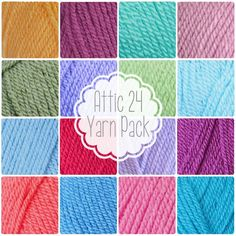 Hook up your very own Granny Stripe Blanket ala Lucy from Attic This fantastic yarn pack features all 17 Stylecraft Special DK shades used by Lucy to make her gorgeous Granny Stripe Blanket. 1003 - - Cloud - S Crochet Books, Crochet Yarn, Yarn Colors, Colours, Gorgeous Grannies, Granny Stripe Blanket, Attic 24, Yarn Inspiration, Blue Colour Palette