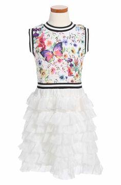 1eed1ef94 Ava   Yelly Pleated Skater Dress (Big Girls)