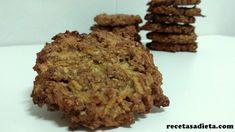 galletas de avena, manzana y canela final Krispie Treats, Rice Krispies, Biscotti, Almond, Cheesecake, Muffin, Favorite Recipes, Healthy Recipes, Cookies