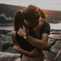 love | couple | engagement | sunset | hugs | mood | photos | outdoors