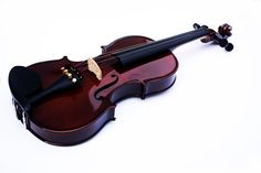 Violin Luthier, con acabado y brillo perfecto, color tabaco