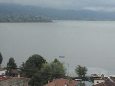 #boat #kastoria #greece #macedonia #wind #weather #nosun #lake