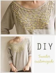 Resultado de imagem para diy roupas customizadas