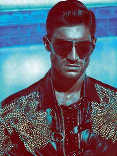 Versace Men's Spring Summer 2012 Advertising Campaign - Ryan Barrett #versace