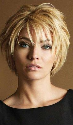 Beautiful short hairstyles 40 - new hair models- Schöne kurze Frisuren 40 – Neue Haare Modelle Beautiful short hairstyles 40 hairstyles hairstyles # younger - Short Haircuts With Bangs, Medium Layered Haircuts, Short Haircut Styles, Short Hairstyles For Thick Hair, Short Hair With Layers, Medium Hair Cuts, Short Hair Cuts, Medium Hair Styles, Curly Hair Styles