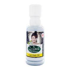 Can Hair Oil - Makes Your HAIR Naturally BLACK Price- Rs. 190 for 100 ml.