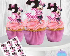 Princess Aurora Cupcake Toppers Sleeping por AvaScharlizeShop